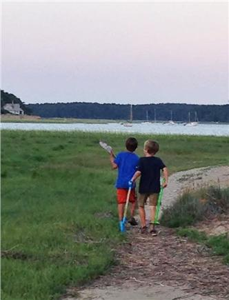 Wellfleet Cape Cod vacation rental - There are a multitude of lovely walking trails just steps away.