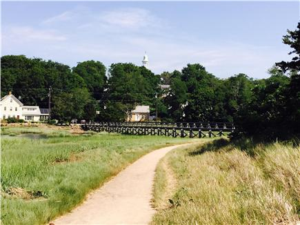 Wellfleet Cape Cod vacation rental - Walk along the marsh across Uncle Tim's Bridge to village.