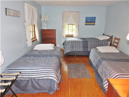 Chatham Cape Cod vacation rental - Large 3rd bedroom with 3 twin beds