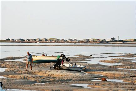 Barnstable Cape Cod vacation rental - A view across the bay at low tide