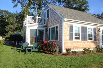 Barnstable Cape Cod vacation rental - View of 1st and 2nd floor porches