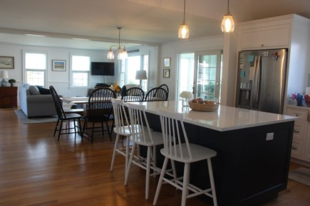 Barnstable Cape Cod vacation rental - View from kitchen into open living room