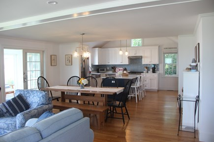 Barnstable Cape Cod vacation rental - Completely renovated living room, dining room, kitchen