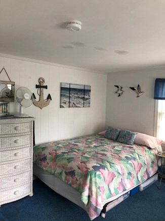 Dennis Port Cape Cod vacation rental - Queen size bed. Window A/C