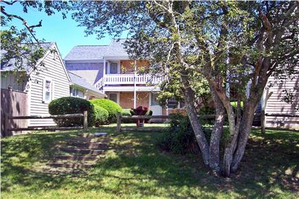 Dennis Port Cape Cod vacation rental - Yard and Steps toward the Beach!