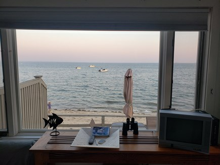 Provincetown Cape Cod vacation rental - Water view from Living Room