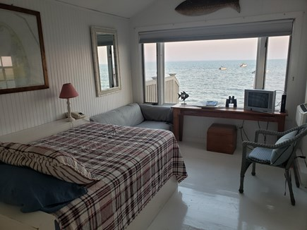 Provincetown Cape Cod vacation rental - Waterside Living Room/Bedroom