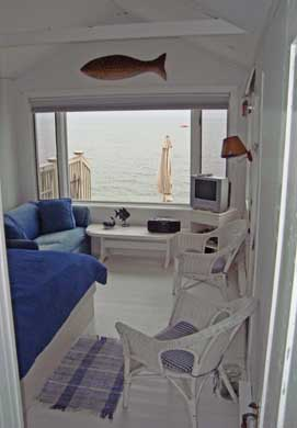 Provincetown Cape Cod vacation rental - View of open living area