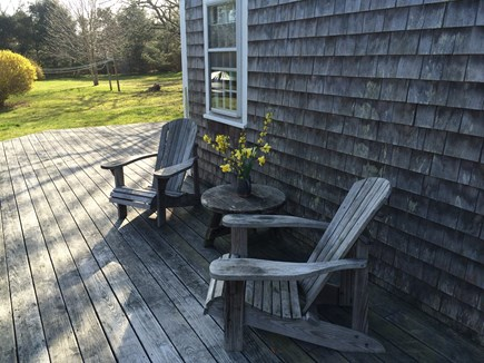 East Orleans Cape Cod vacation rental - Deck