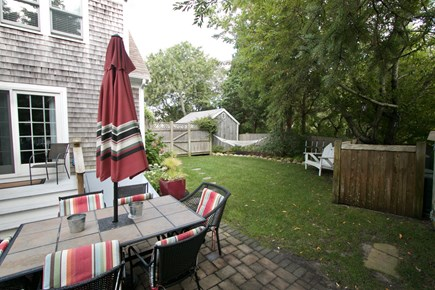 Dennis, North Side Cape Cod vacation rental - Backyard patio
