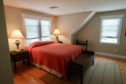Dennis, North Side Cape Cod vacation rental - Master bedroom, second floor, 1 queen bed