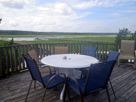 Sandwich Cape Cod vacation rental - Dine on the Deck Overlooking the Marsh and Creak