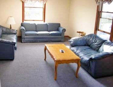 Sandwich Cape Cod vacation rental - Family Room With Queen Sleep Sofa
