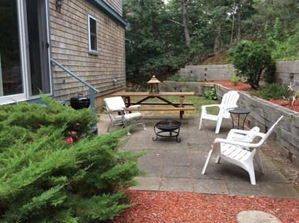 Chatham Cape Cod vacation rental - Peaceful backyard for late afternoon relaxing