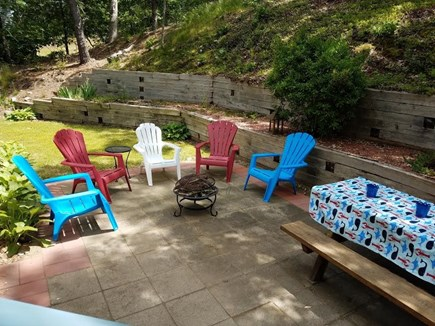 Chatham Cape Cod vacation rental - Great patio enjoy some firepit fun!