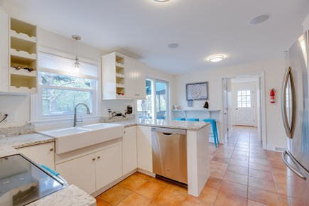 Eastham Cape Cod vacation rental - Ceiling speakers, Google home, new large fridge