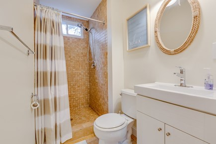 Eastham Cape Cod vacation rental - En-suite master bathroom with shower