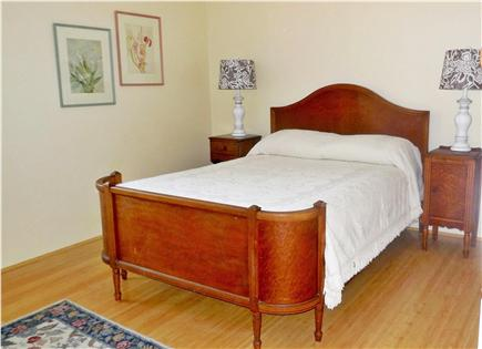 North Eastham Cape Cod vacation rental - Bedroom with full size bed, ceiling fan