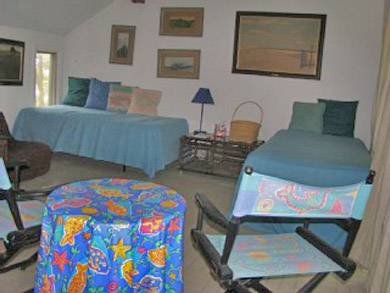 South Wellfleet Cape Cod vacation rental - Second upstairs twin bedroom