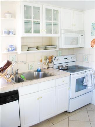 South Wellfleet Cape Cod vacation rental - Kitchen area.