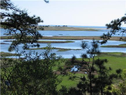 South Wellfleet Cape Cod vacation rental - Marsh view from back deck