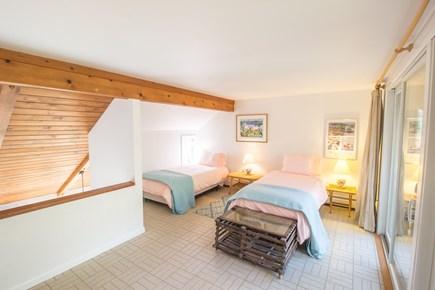 South Wellfleet Cape Cod vacation rental - Loft bedroom. Please note there is no door.