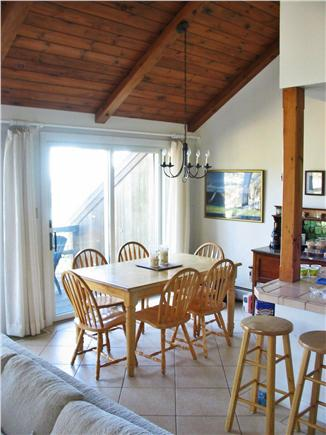 South Wellfleet Cape Cod vacation rental - Eating area with views of the marsh