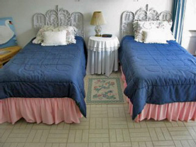 South Wellfleet Cape Cod vacation rental - One of 2 upstairs twin bedrooms with water views