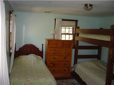 North Eastham Cape Cod vacation rental - Bedroom #4 Twin with Twin Bunks
