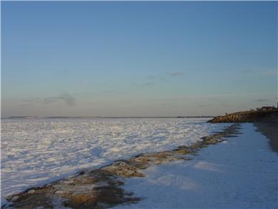 North Eastham Cape Cod vacation rental - Bay Beach just a short stroll away - winter!