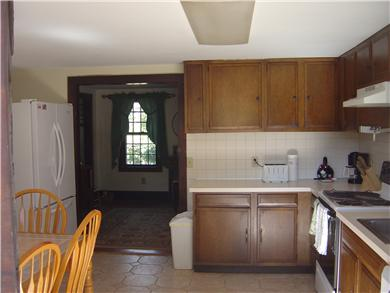 North Eastham Cape Cod vacation rental - Kitchen 13x14 feet, walk out to deck