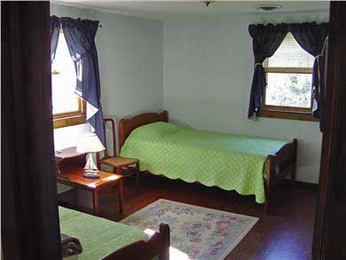 North Eastham Cape Cod vacation rental - Bedroom #2  1 Twins and a twin  bunks same as Bedroom #4