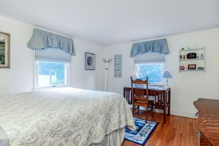 East Orleans Cape Cod vacation rental - Bedroom #3 on 1st floor. Queen bed. Central air.
