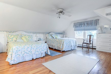 East Orleans Cape Cod vacation rental - Bedroom #1.Masterbedroom on 2nd floor.Two double beds.Central air