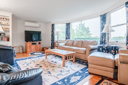 East Orleans Cape Cod vacation rental - Family room with lots of natural light, central air, HD TV