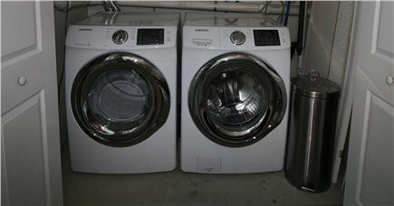 HarwichPort Cape Cod vacation rental - Brand new Samsung steam laundry pair - your laundry does itself!