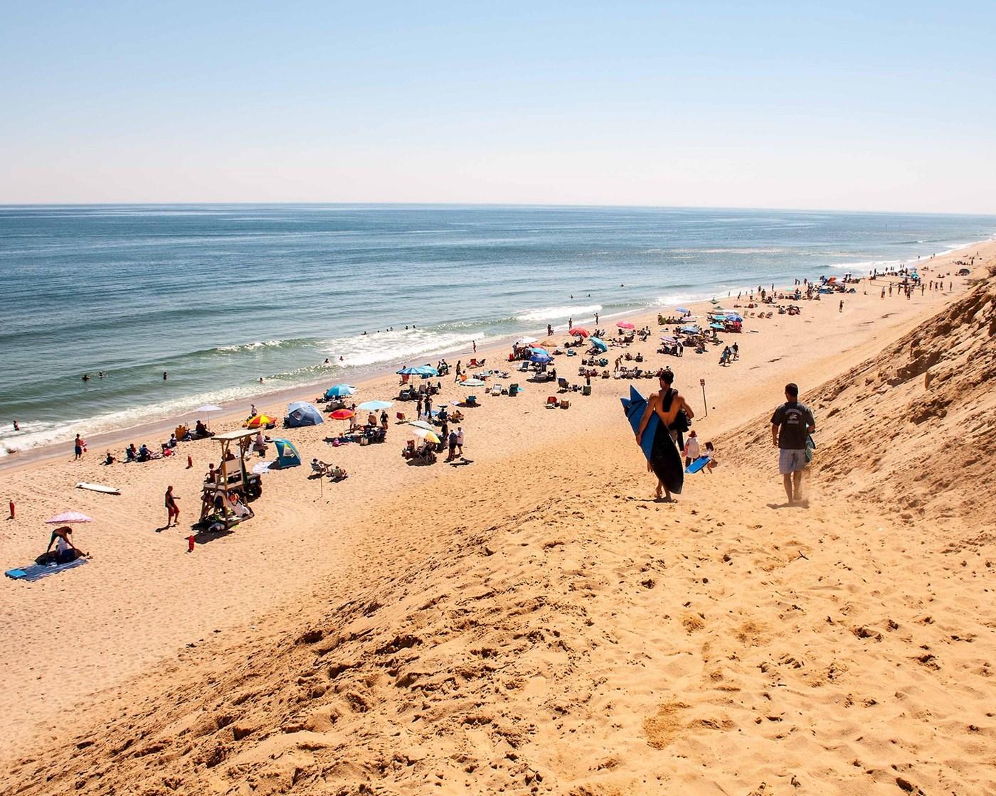 Wellfleet Vacation Rental home in Cape Cod MA, On beach