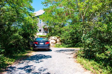 Wellfleet Cape Cod vacation rental - Driveway view
