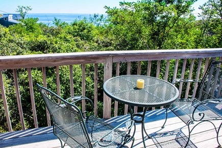 Wellfleet Cape Cod vacation rental - Private deck off master bedroom