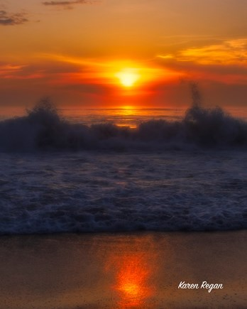 Wellfleet Cape Cod vacation rental - Sunrise on Cahoon Hollow Beach
