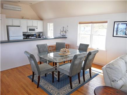 Wellfleet Cape Cod vacation rental - Living/Dining Area looking towards kitchen  (Ocean Views)