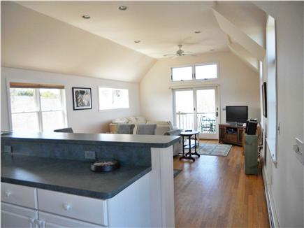 Wellfleet Cape Cod vacation rental - Kitchen area looking towards dining/living area