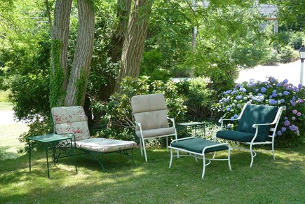 Wellfleet Cape Cod vacation rental - Outside seating