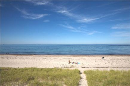 East Sandwich Cape Cod vacation rental - East Sandwich Beach on Cape Cod Bay just steps away