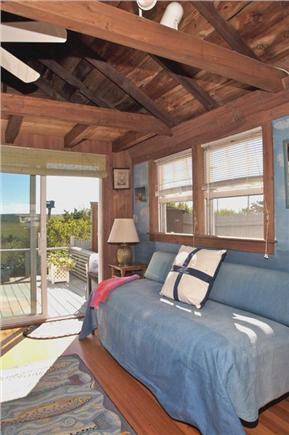 East Sandwich Cape Cod vacation rental - Living room Sofa Bed
