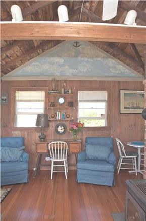 East Sandwich Cape Cod vacation rental - Seating Area in Livingroom