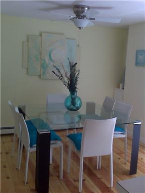Harwich Port Cape Cod vacation rental - Beautiful Dining Room with French doors to deck