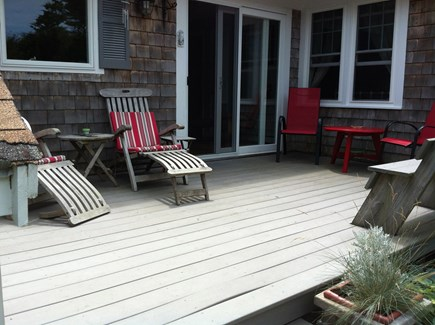 Yarmouthport Cape Cod vacation rental - Deck off Kitchen