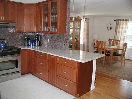 Yarmouthport Cape Cod vacation rental - Kitchen and Dining Area