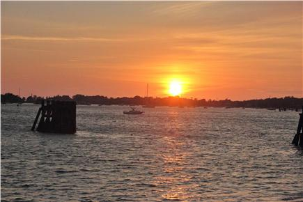 Woods Hole Woods Hole vacation rental - Sunset over Great Harbor